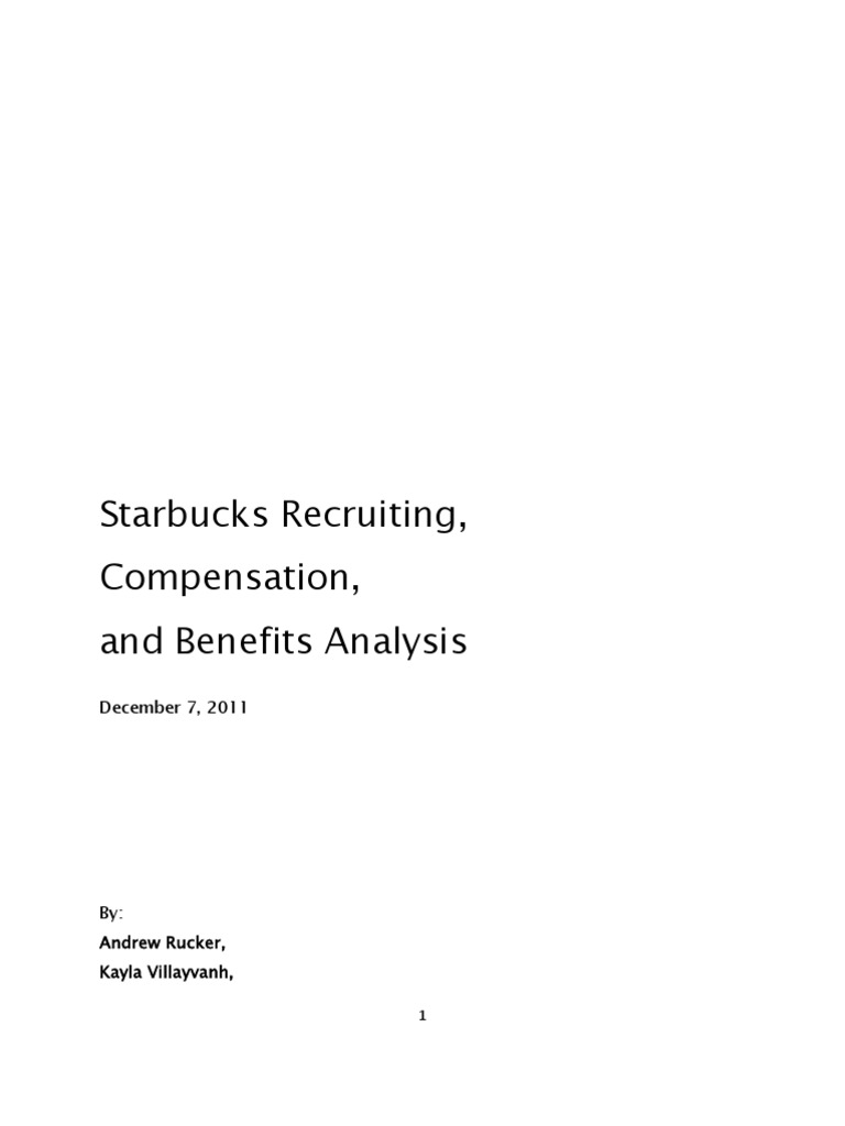 Starbucks Recruiting, Compensation, And Benefits | Starbucks