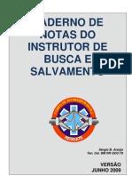 BUSCA E SALVAMENTO - CADERNO TÉCNICO DO INSTRUTOR