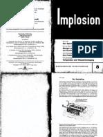 Implosion - Heft 008 - (1963) Schauberger - Biotechnische Schriftenreihe