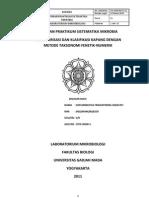Laporan Taksonomi Numerik-fenetik Kapang 2