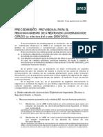 PROCEDIMIENTO RECONOCIMIENTO DE CRÉDITOS