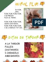 LAMINES DE CANÇONS DE TARDOR PER L'AULA