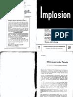 Implosion - Heft 021 - (1966) Schauberger - Biotechnische Schriftenreihe