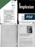 Implosion - Heft 022 - (1966) Schauberger - Biotechnische Schriftenreihe