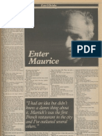 Morris Martick interview from 1981
