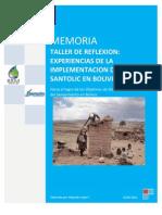 2011 10 04_memoria Taller Santolic