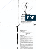 Implosion - Heft 036 - (1969) Schauberger - Biotechnische Schriftenreihe