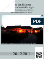 Aus den Eslarner Gemeinderatssitzungen 12.2011