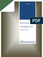 Firewall Assignment