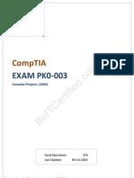Pass4sure CompTIA PK0-003