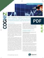 OTC Trading - Impact of CCP Cognizant White Paper