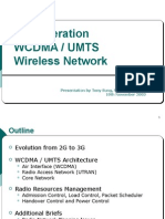 3rd Generation WCDMAUMTS Wireless Network