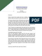 Confirmatory Factor Analysis (Pengenalan)