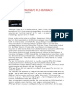 JPM FACING MASSIVE BUYBACK OF PLS MORTGAGE BACKED SECURITIES BY INVESTORS