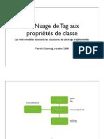 Du nuage de Tag au propriétés de classe d'objet (Slide)