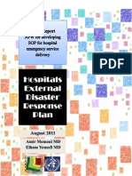 Emergency Hospital Service Delivery - JPRM 2011 - Third Deliverable - English