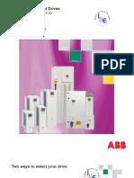 ABB; Standard Drives, ACS550