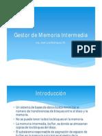 04 Gestor de Memoria Intermendia