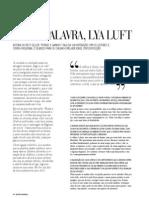 Conversa Lya Luft - Revista Regional