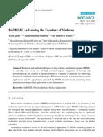 Teena James, Manu Sebastian Mannoor and Dentcho V. Ivanov- BioMEMS –Advancing the Frontiers of Medicine