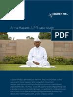 Anna Hazare - A PR Case Study