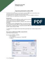 Distintas Calidades Al Generar PDF Desde WORD