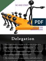 Delegation ) 1