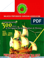 Melaka Portuguese Eurasian Association - 500th Aniversary Commemorative Programme