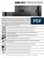 P 6900 ARE Datasheet