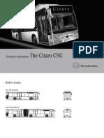 Citaro CNG (Tech Info)
