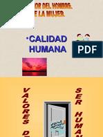 VALORES HUMANOS- I