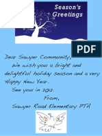 Season's Greetings 2011