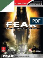 FEAR Prima Official eGuide