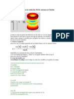 Creación De patrones de radiación 3D De Antenas en Matlab