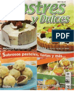 Postres y Dulces No.126