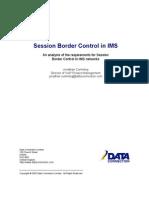 Data Connection SBCinIMS