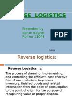 Reverse Logistics Final Ppt