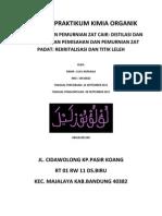 Laporan Praktikum Kimor Perc.1&2