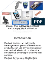 Clinical Trial in Development and Marketing of Medical