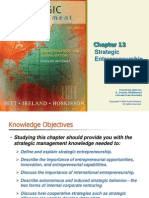 Strategic management Ch 13