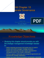 Strategic management Ch 10 Corporate Governance Lecture