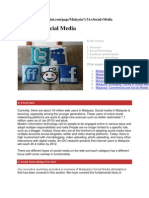 Malaysia Social Media SUSUNAN abdul murad abd hamid