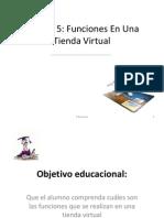 Unidad 5_Funciones en Una Tienda Virtual