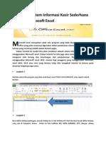 Tutorial Kasir Excel