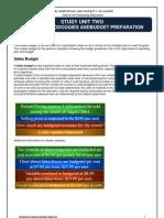 U02 Budget Methodolgies and Budget Preparation