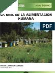 la miel en la alimentación humana