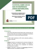 Encuesta Estatal sobre el uso de drogas en Enseñanzas Secundarias (ESTUDES 2010)