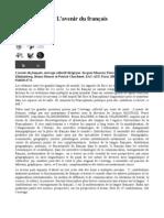 CNcrL'avenir_du_français