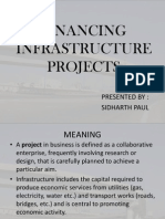 Financing Infrasteracture Projects
