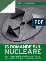 13 Domande sul Nucleare
